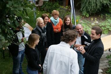 Julien Courbet et acteurs