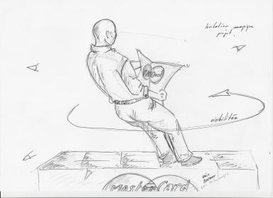 Eric Borner levitation projet suite 2 master card