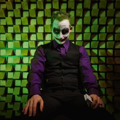 international art project joker photo eric borner seating